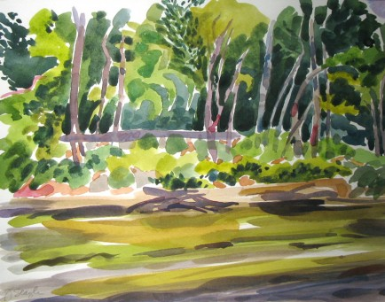 l-ross-gallery_jeanne-seagle_the-wolf-river_18.5 x 21.5