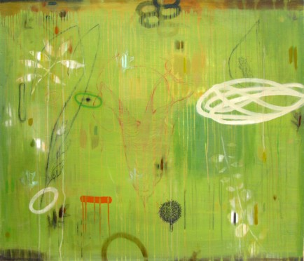 l-ross-gallery_chuck-johnson_dancing-in-the-grass-after-rain_36x42
