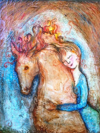 l-ross-gallery_mary-cour-burrows_she-loved-a-hot-horse_24x30