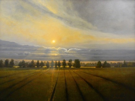 l-ross-gallery_matthew-hasty_rice-field-at-sunset_36x48