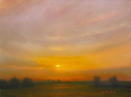 l-ross-gallery_matthew-hasty_sunset-over-the-meadow_18x24