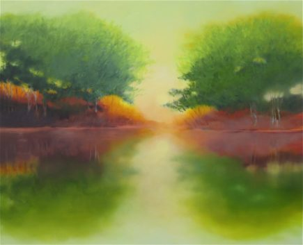l-ross-gallery_pam-hassler_reflections-II_48x60