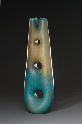 l-ross-gallery_peter-wright_turquoise-ladder_23x8x4.5