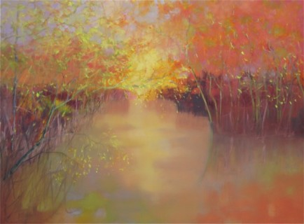 l-ross-gallery_pam-hassler_wolf-river-at-rossville-ii_36x48