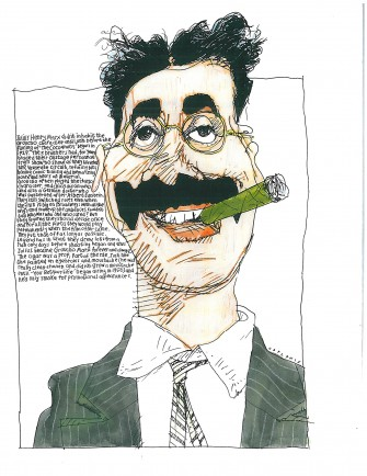 l-ross-gallery_mike-caplanis_groucho_26x22