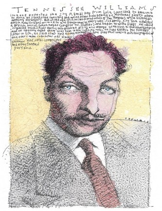 l-ross-gallery_mike-caplanis_tennessee-williams_24x22