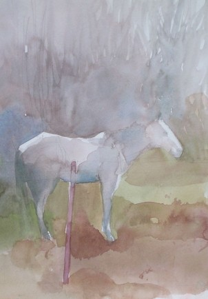 l-ross-gallery_jeanne-seagle_white-horse-standing_20x17