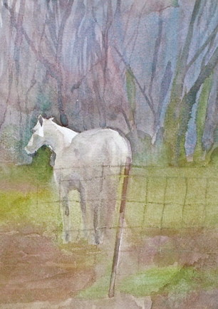 l-ross-gallery_jeanne-seagle_white-horse-leaving_20x17