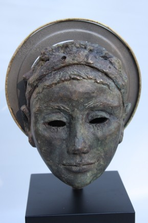 l-ross-gallery_sandra-ehrekranz_bronze-head_14.5x5x6