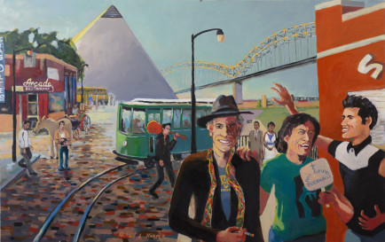 l-ross-gallery_richard-harper_two-tourists_42x70