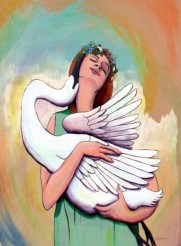 l-ross-gallery_annabelle-meacham_leda-and-her-swan_39.5x29.5
